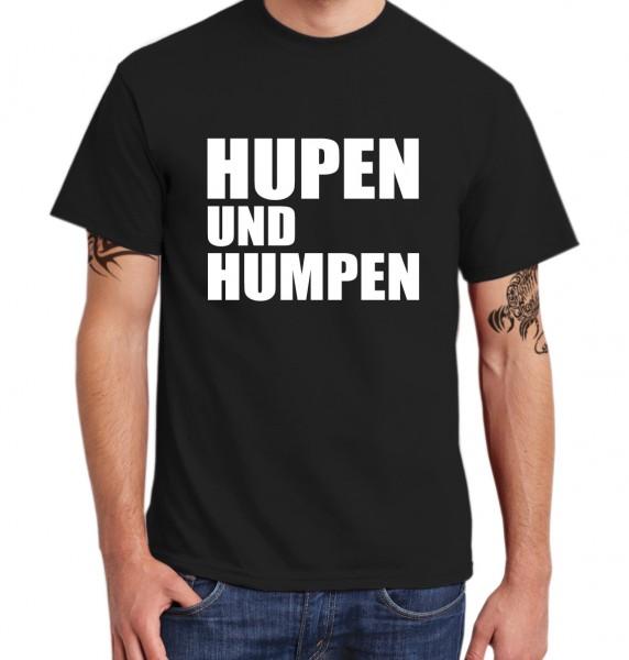 ::: HUPEN UND HUMPEN ::: Grafikdesign T-Shirt made with Love ::: Herren