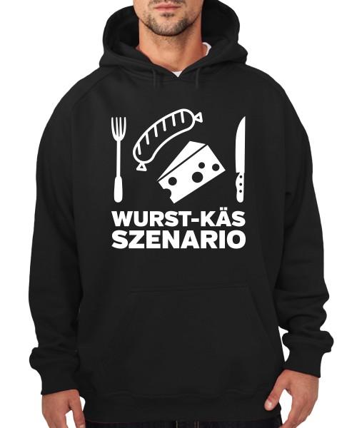 -- Wurst-Käs-Szenario -- Boys Kapuzenpullover