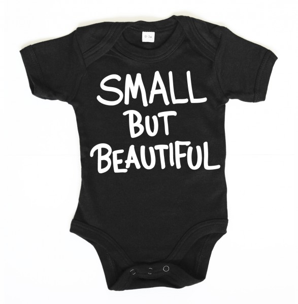 ::: SMALL BUT BEAUTIFUL ::: Grafikdesign Body made with Love ::: Baby Body Mädchen