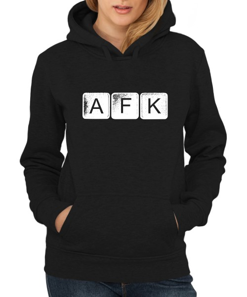 -- AFK Away From Keyboard -- Girls Kapuzenpullover