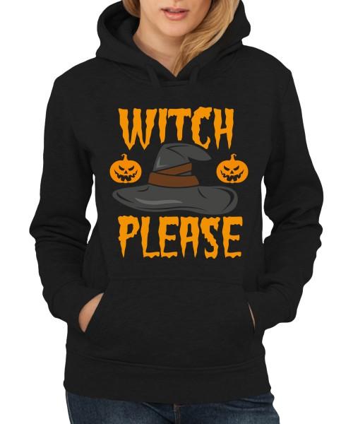 -- Witch Please - Halloween Hexenshirt -- Girls Kapuzenpullover