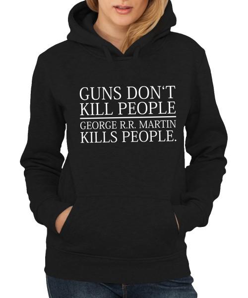 -- George Kills People -- Girls Kapuzenpullover