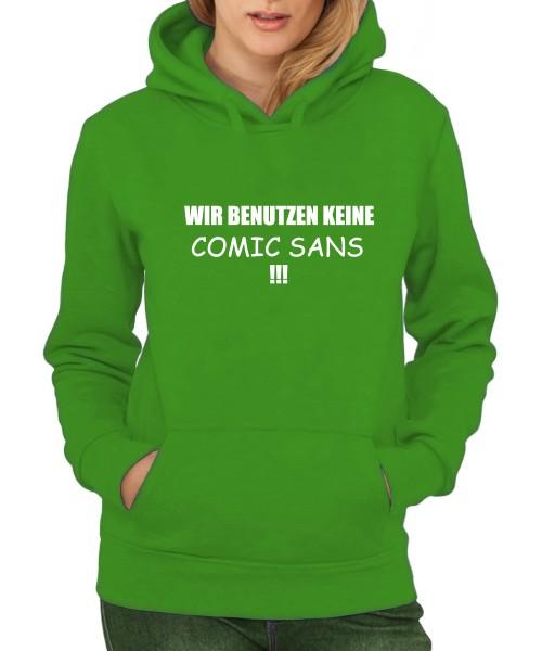 -- Comic Sans -- Girls Kapuzenpullover