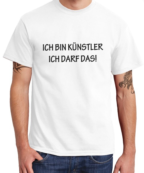 -- Ich bin Künstler Ich darf das! -- Boys T-Shirt
