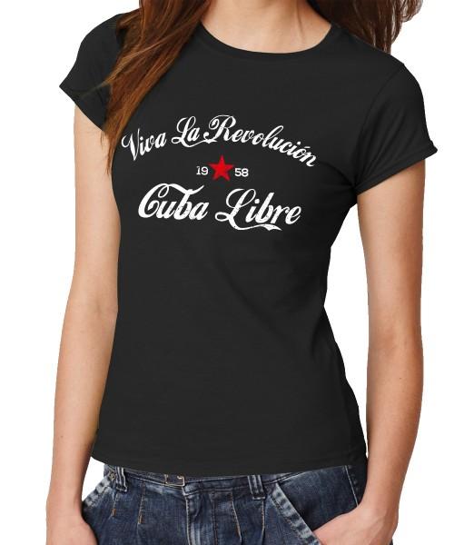-- Cuba Libre - Viva la Revolución -- Girls T-Shirt