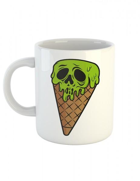 clothinx Kaffeetasse mit Aufdruck I Scream