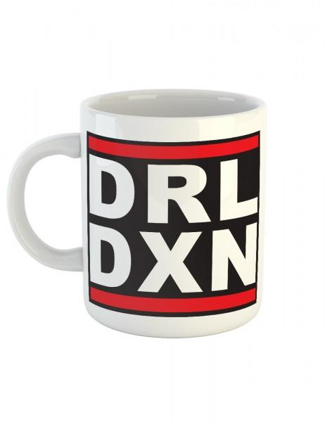 clothinx Kaffeetasse mit Aufdruck DRL DXN