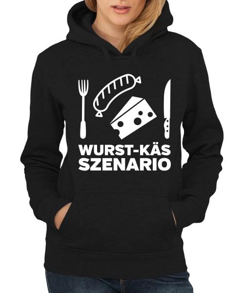 -- Wurst-Käs-Szenario -- Girls Kapuzenpullover