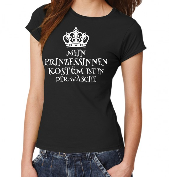 ::: MEIN PRINZESSINNENKOSTÜM IST IN DER WÄSCHE ::: T-Shirt Damen