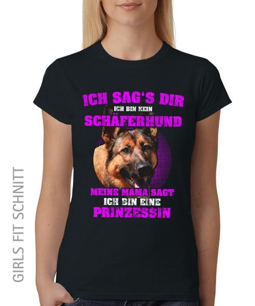 -- Schäferhund Prinzessin -- Girls T-Shirt auch im Unisex Schnitt