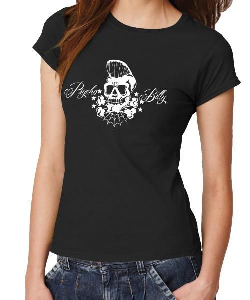 -- Psychobilly -- Girls T-Shirt