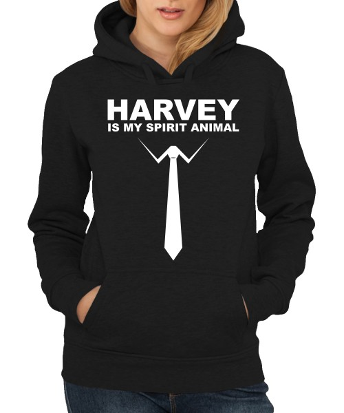-- Harvey is my spirit animal -- Girls Kapuzenpullover