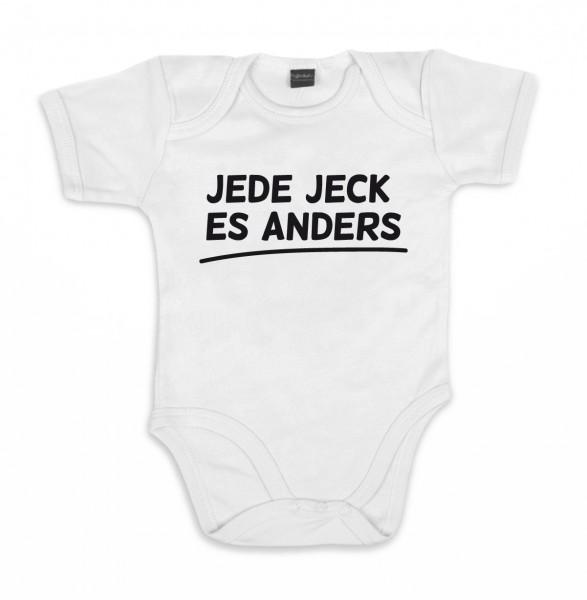 ::: JEDE JECK ES ANDERS ::: Baby Body für Mädchen & Jungen