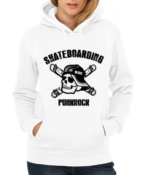 -- Skateboarding is Punkrock-- Girls T-Shirt