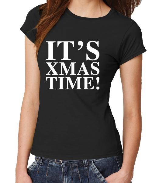 Its_xmas_time_Schwarz_Girl_Shirt.jpg
