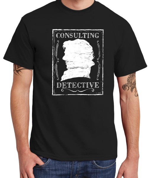 -- Consulting Detective -- Boys T-Shirt