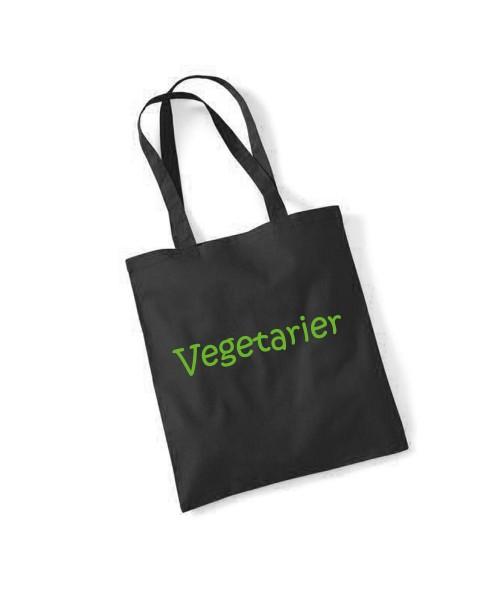 -- Vegetarier -- Baumwolltasche