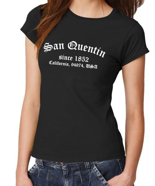 -- San Quentin -- Girls T-Shirt