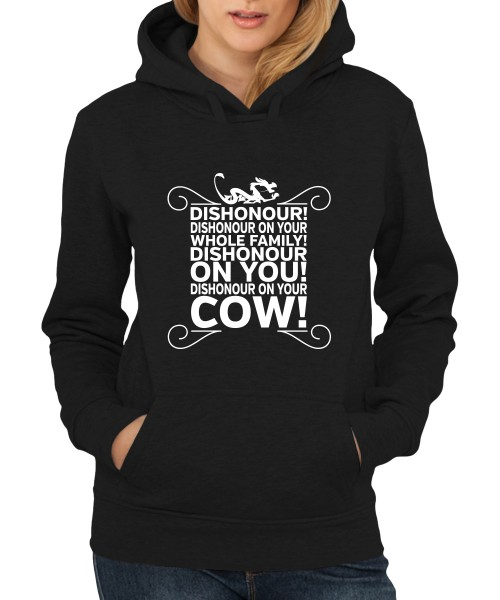 -- Dishonour! -- Girls Kapuzenpullover