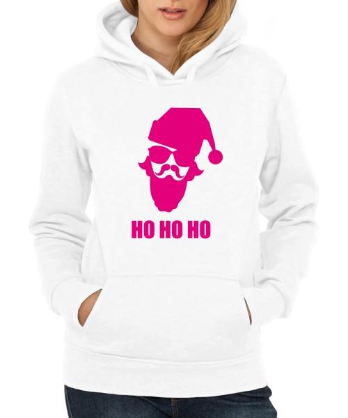 ::: HO HO HO ::: Hoodie ::: Damen