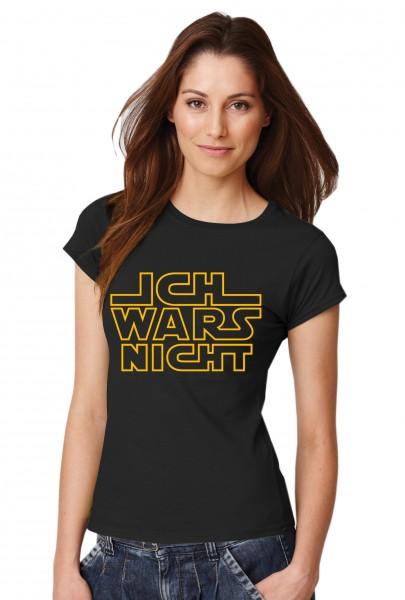 ::: ICH WARS NICHT ::: Grafikdesign Shirt made with Love ::: Damen