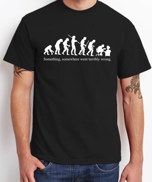 -- Evolution Something Somewhere -- Boys T-Shirt