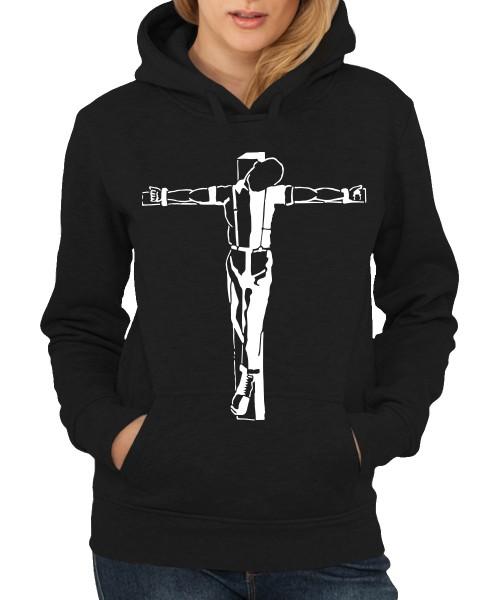-- Crucified Skinhead -- Girls Kapuzenpullover