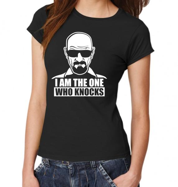 ::: THE ONE WHO KNOCKS ::: T-Shirt Damen
