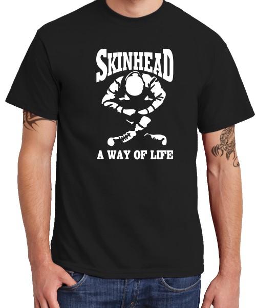 -- Skinhead - a Way of Life -- Boys T-Shirt