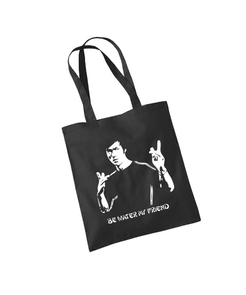 -- Bruce Lee - Be Water -- Baumwolltasche
