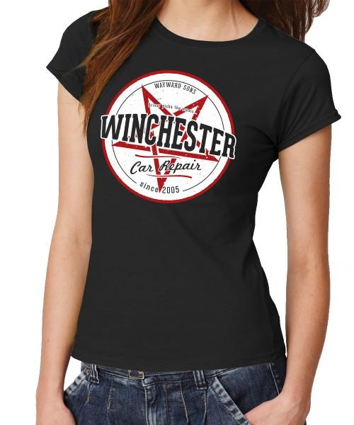 -- Winchester Car Repair -- Girls T-Shirt
