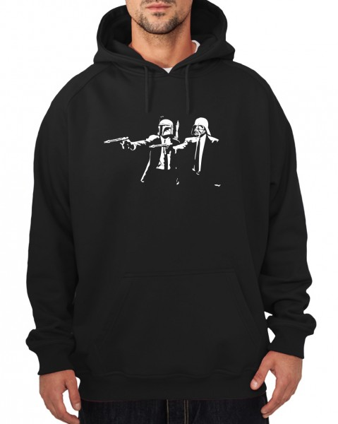 -- Star Fiction Vader/Fett-- Boys Kapuzenpullover
