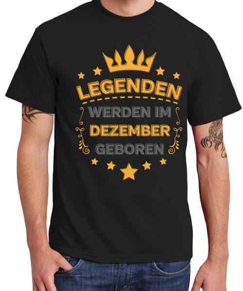 -- Legenden werden im Dezember geboren -- Boys T-Shirt
