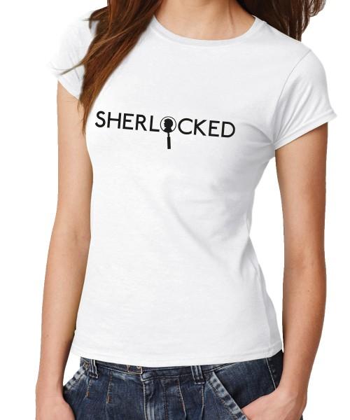 -- Sherlock Profile -- Girls T-Shirt