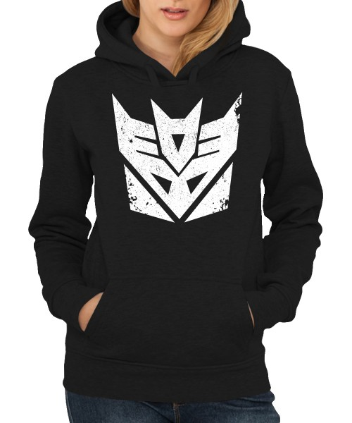 -- Decepticons, Punish and Enslave -- Girls Kapuzenpullover