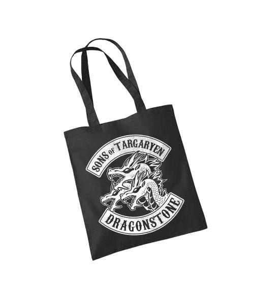 -- Sons of Targaryen -- Baumwolltasche