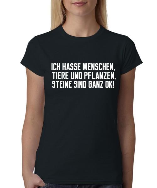 -- Steine sind ganz okay! -- Girls T-Shirt