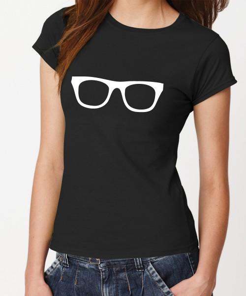 -- Brille -- Girls T-Shirt