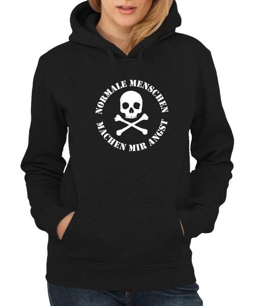 -- Normale Menschen machen mir Angst -- Girls Kapuzenpullover