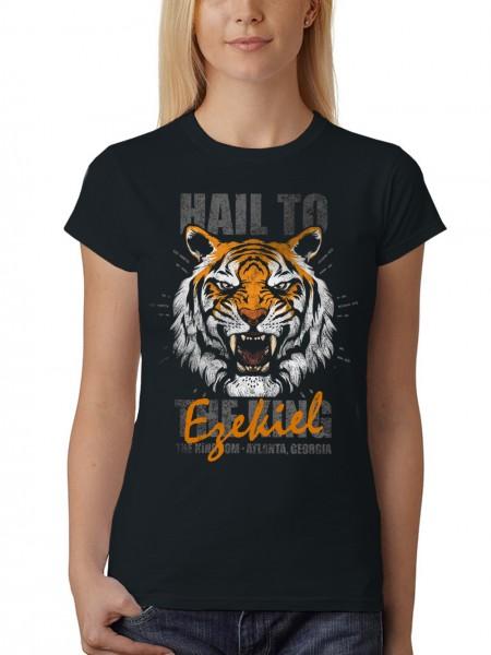 clothinx Damen T-Shirt Hail To Shiva