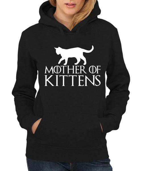 -- Mother of Kittens -- Girls Kapuzenpullover