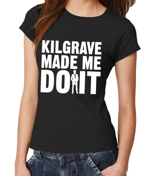 -- Kilgrave Made Me Do It -- Girls T-Shirt