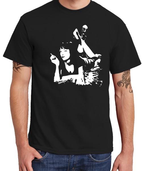 -- Pulp Fiction - Uma -- Boys T-Shirt