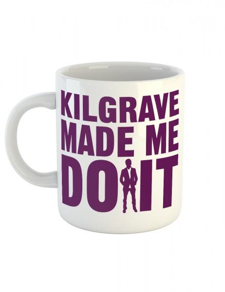clothinx Kaffeetasse mit Aufdruck Kilgrave Made Me Do It