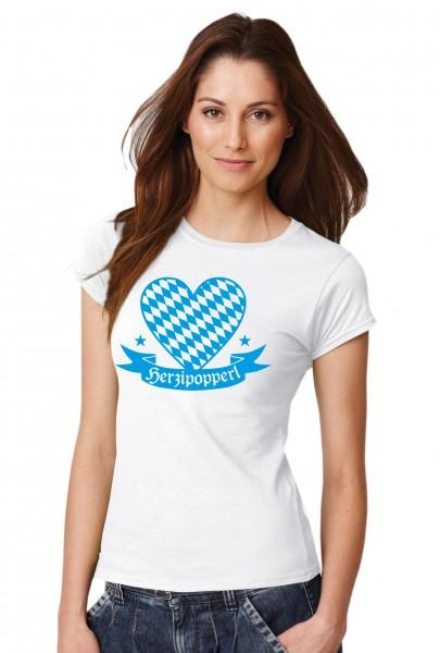 ::: HERZIPOPPERL ::: Grafikdesign Shirt made with Love ::: Damen
