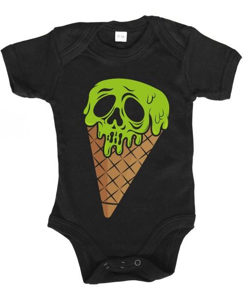 -- I Scream Halloween Motiv -- Babybody