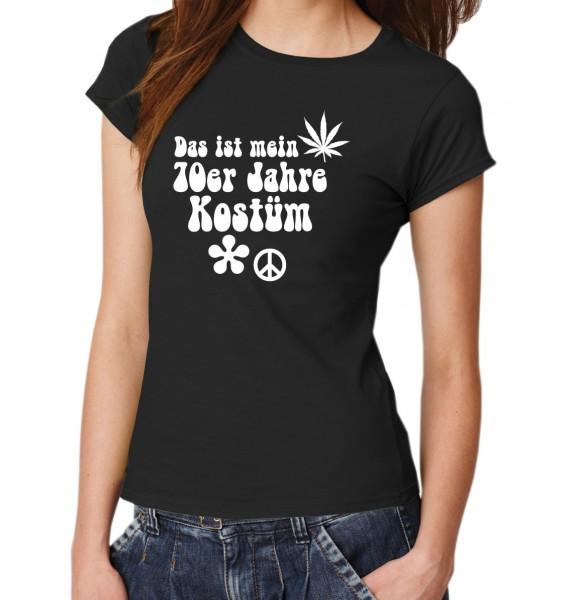 ::: DAS IST MEIN 70ER JAHRE KOSTÜM ::: T-Shirt Damen