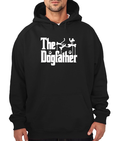-- The Dogfather -- Boys Kapuzenpullover