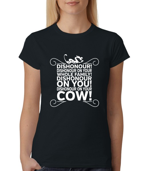 -- Dishonour! -- Girls T-Shirt