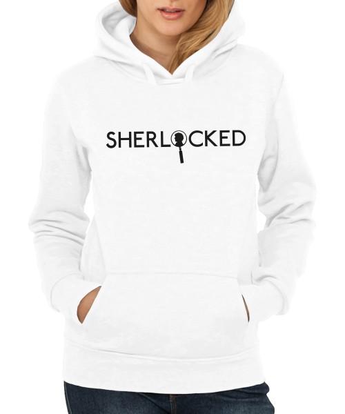 -- Sherlock Profile -- Girls Kapuzenpullover